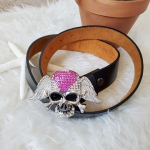 Skull Diamond Belt